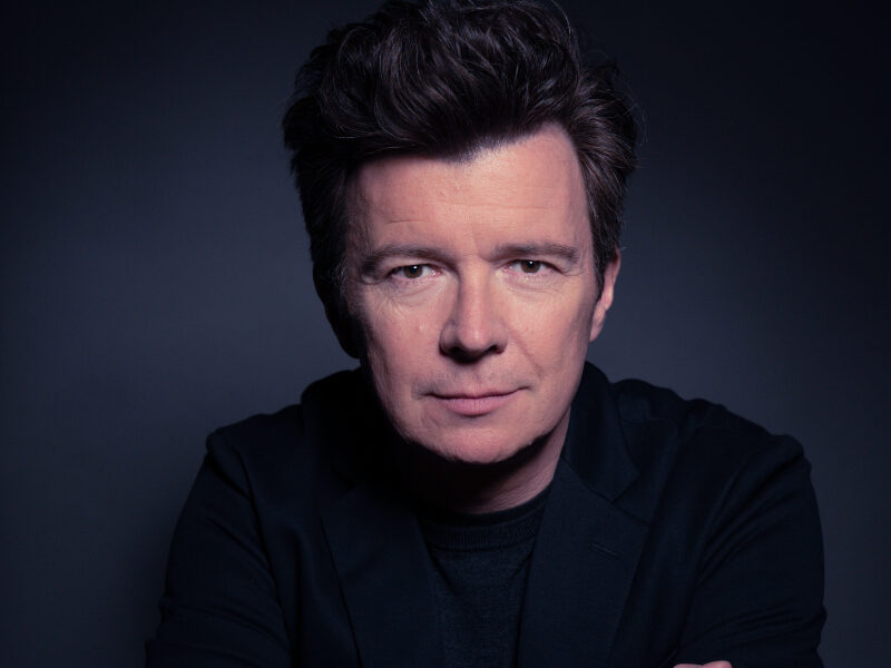 Rick Astley in Uttoxeter moved to 2022