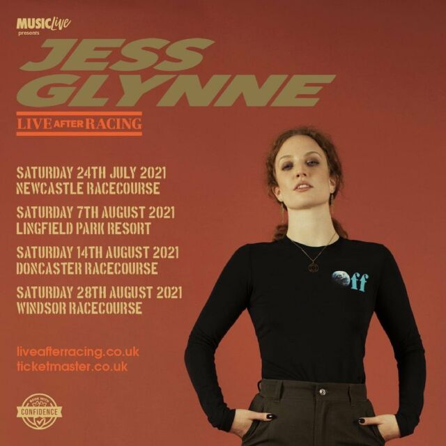 When Jess Glynne plays live, you know its going to be hit after hit AFTER HIT! 🎙 See her live at a racecourse near you this summer! 🌸 Tickets & details HERE 👉 bit.ly/3foI2FA