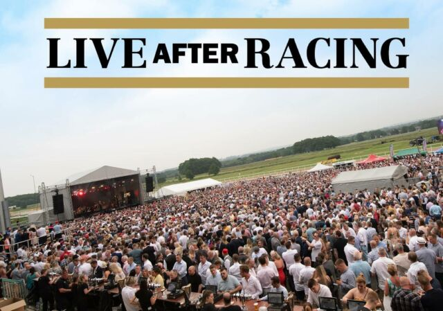 THE SUNSHINE IS HERE TO STAY! ☀️  --- More sun means more plans for a summer of music! Below is a #throwback to one of our shows at @newcastleraces so YOU can see what to expect from a Live After Racing show! 🏇😍