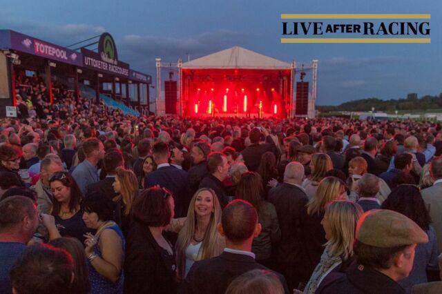 It is soooo good to have scenes like this BACK at our racecourse shows! Here is a #throwback to The Human League  show in Uttoxeter a few years ago! 🔙 - Get your tickets for this years shows HERE 🎟️ bit.ly/LAR_SHOWS 🎟️