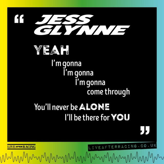 This weekend we welcome Jess Glynne to @lingfieldpark ! To make sure you have your singing voice in perfect shape, we have a line from one of her biggest tunes below.... 🕺💃 - FINAL TICKETS FOR HER HUGE HEADLINE SHOWS ARE AVAILABLE VIA OUR BIO & HERE >> 🎟️ bit.ly/LAR_SHOWS 🎟️