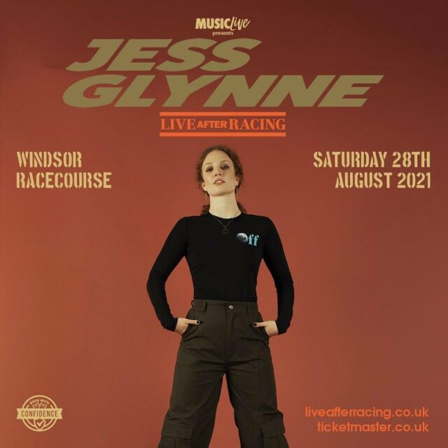 TONIGHT WE WELCOME Jess Glynne TO Windsor Racecourse! 🌼 Who else is join us for the show this August Bank Holiday Weekend? 🌸 - Tickets HERE 👉 bit.ly/LAR_SHOWS 👈