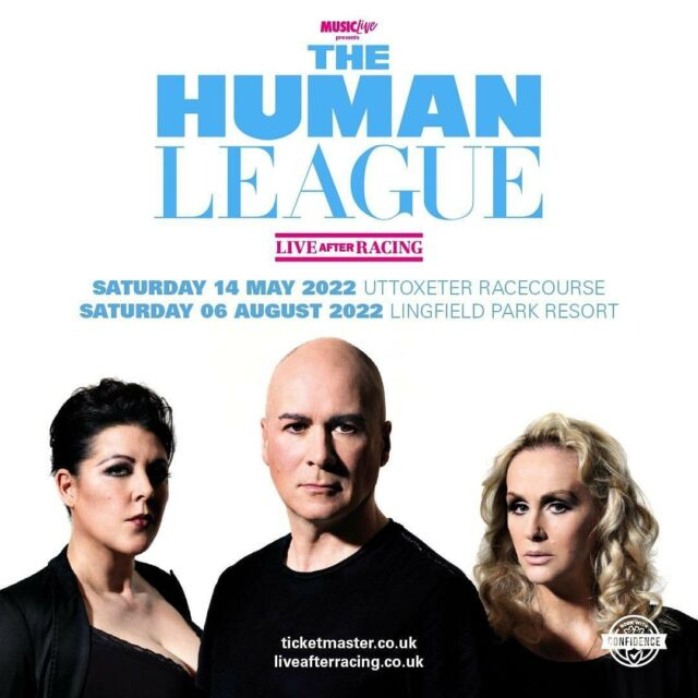 HUGE ANNOUNCEMENT 📣 @humanleaguehq return to play TWO racecourse shows at @uttoxeterraces and @lingfieldpark next summer (2022). 🐎 - Tickets will be available via Ticketmaster. Make sure you sign up to our mailing list to get the pre-sale & on sale ticket links you need! 🎟️ - SIGN UP HERE 📧 bit.ly/LAR-MAILING-LIST - - -  #liveafterracing #humanleague #races